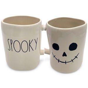 RAE DUNN 'SPOOKY' Double Sided Ceramic Mug